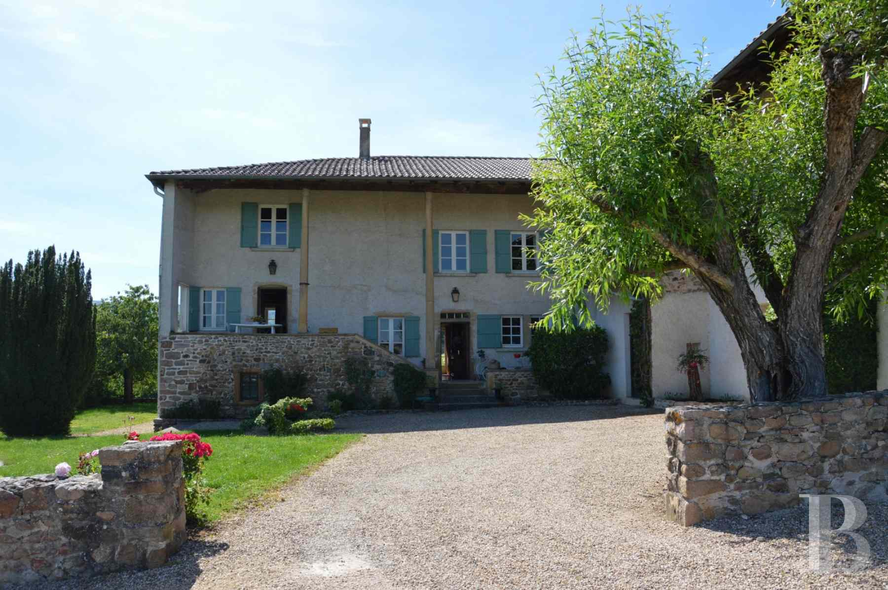 character properties France rhones alps vines beaujolais - 2 zoom
