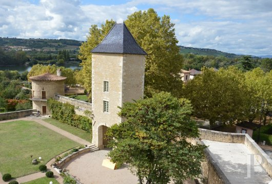 chateaux for sale France rhones alps lyon medieval - 11