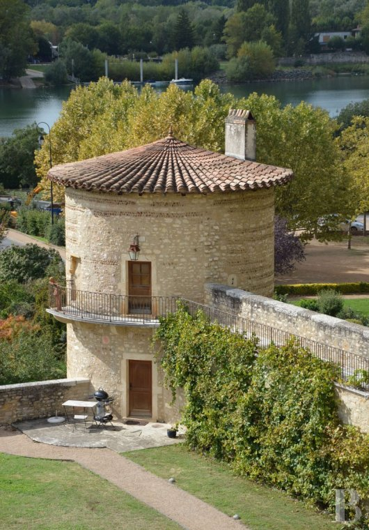 chateaux for sale France rhones alps lyon medieval - 3 mini