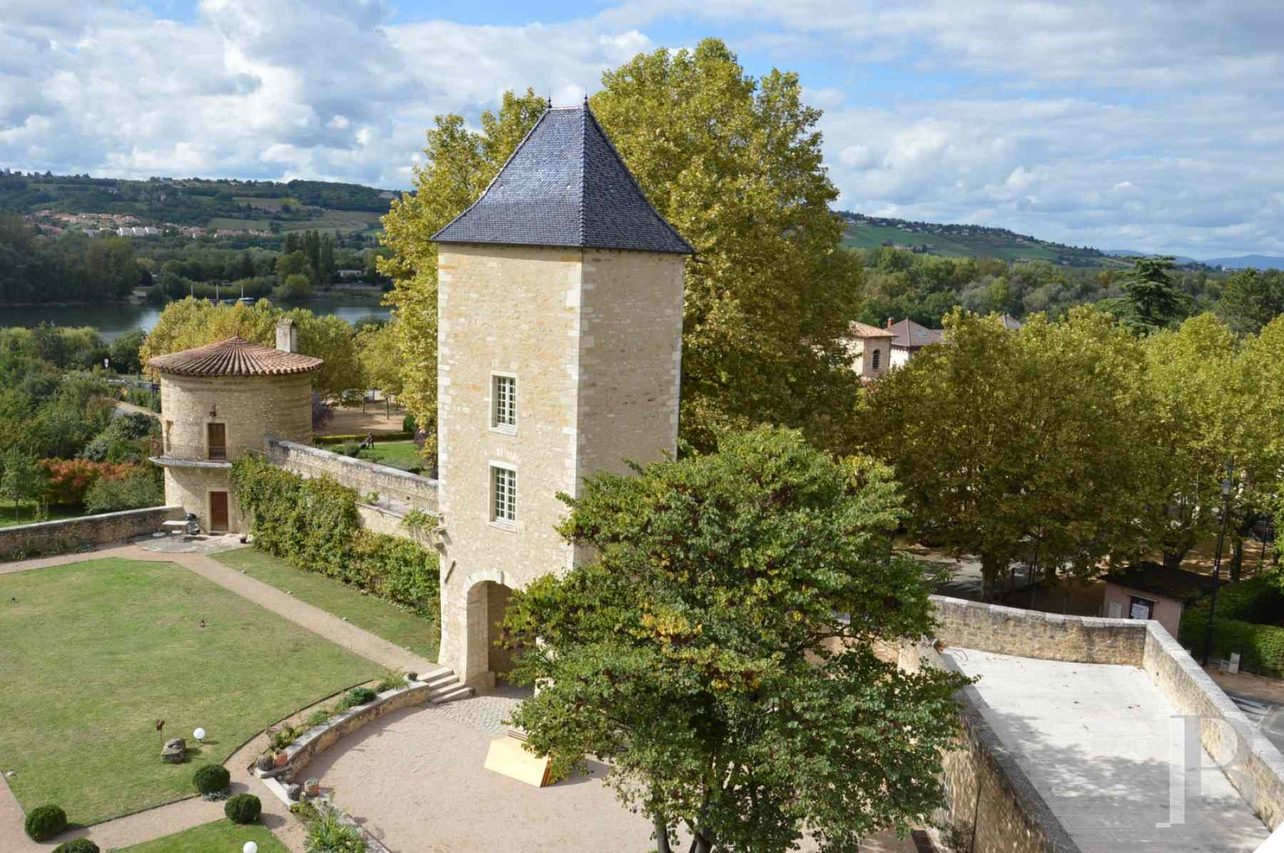 chateaux for sale France rhones alps lyon medieval - 11 zoom