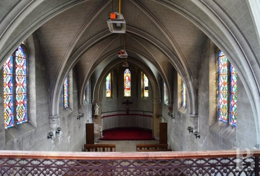 monastery for sale France center val de loire chapel 19th - 7
