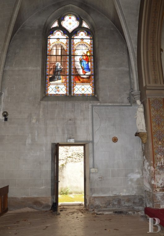 monastery for sale France center val de loire chapel 19th - 4