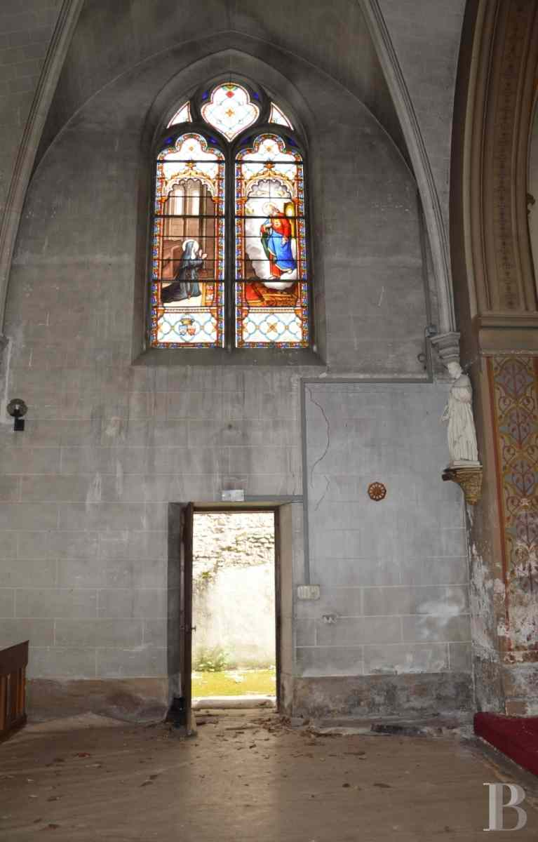 monastery for sale France center val de loire chapel 19th - 4 zoom