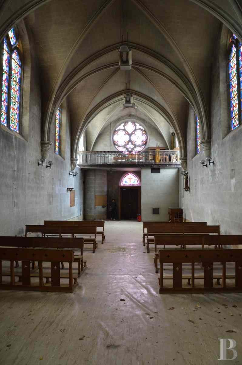 monastery for sale France center val de loire chapel 19th - 6 zoom