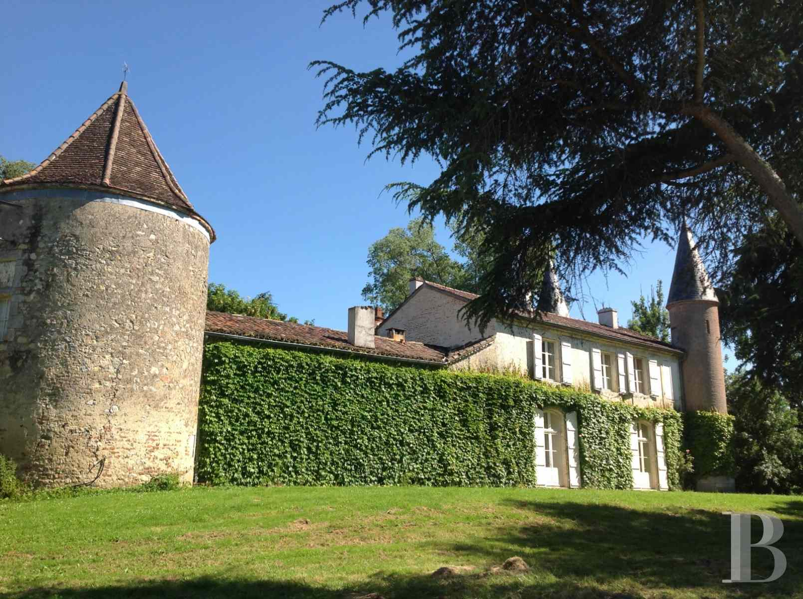 chateaux for sale France aquitaine agen 18th - 6 zoom