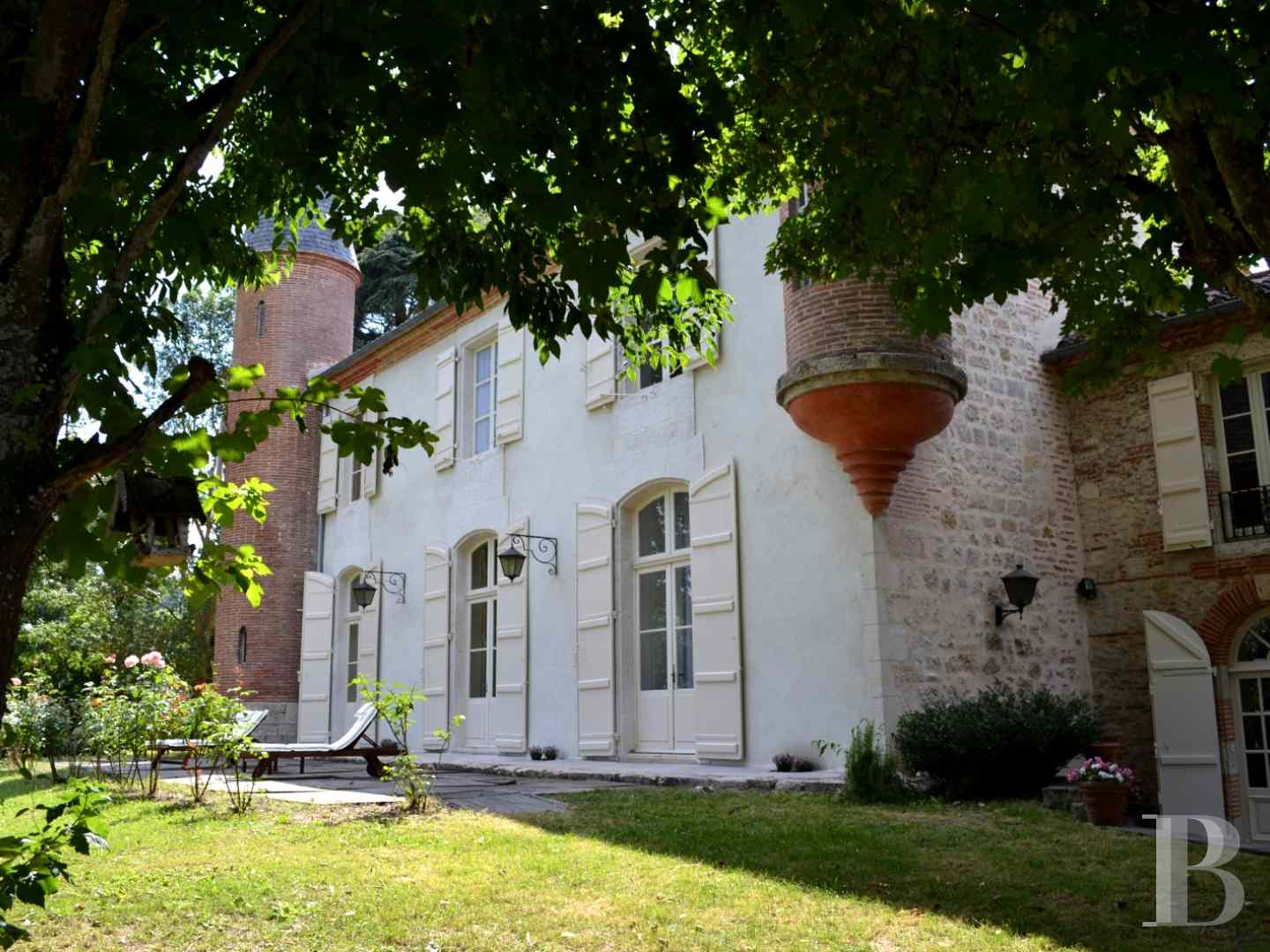 chateaux for sale France aquitaine agen 18th - 2 zoom