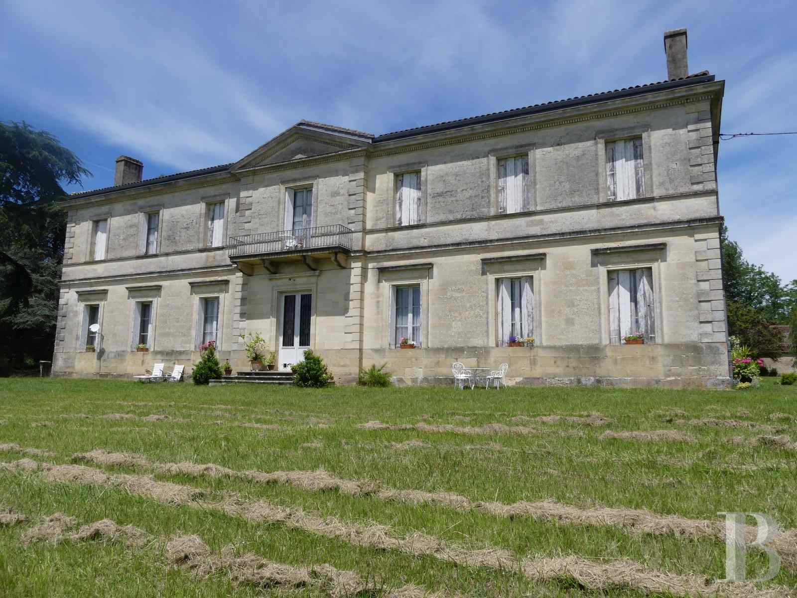 chateaux for sale France aquitaine vines gironde - 1 zoom