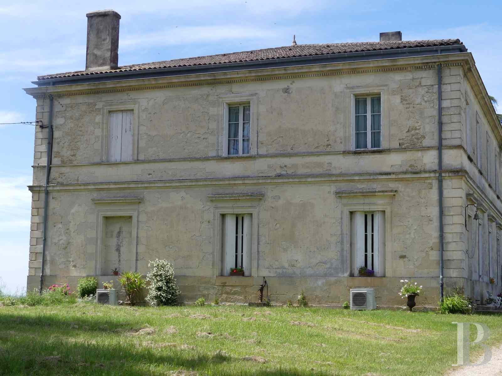 chateaux for sale France aquitaine vines gironde - 2 zoom