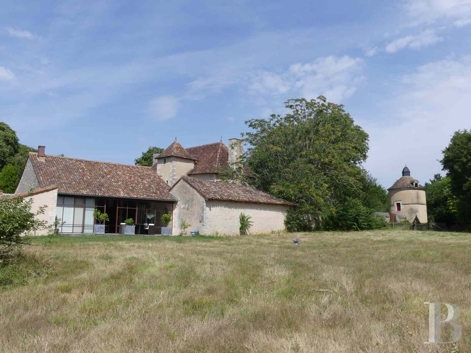 France mansions for sale poitou charentes poitiers estate - 13 zoom