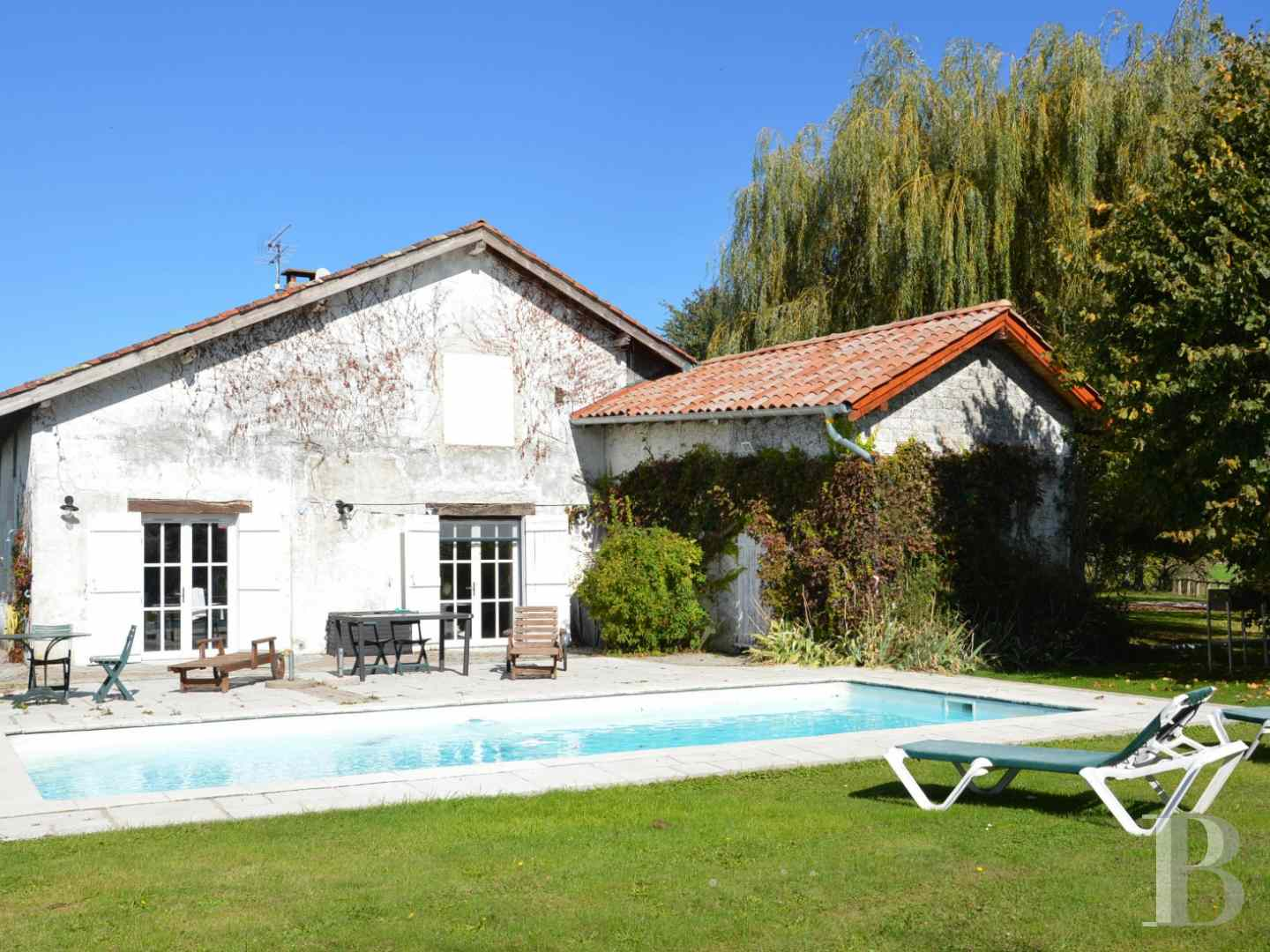 character properties France rhones alps farmhouse renovated - 3 zoom