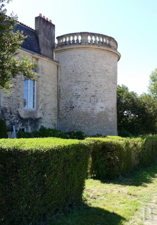 France mansions for sale poitou charentes 18th century - 5