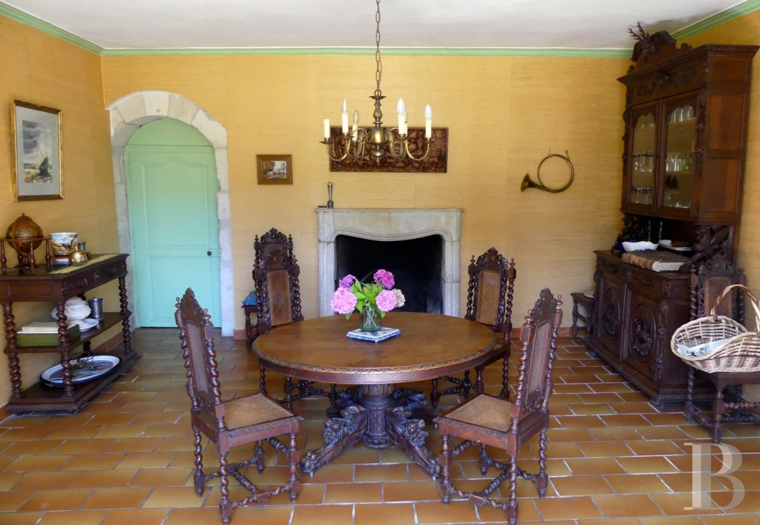 France mansions for sale poitou charentes 18th century - 10