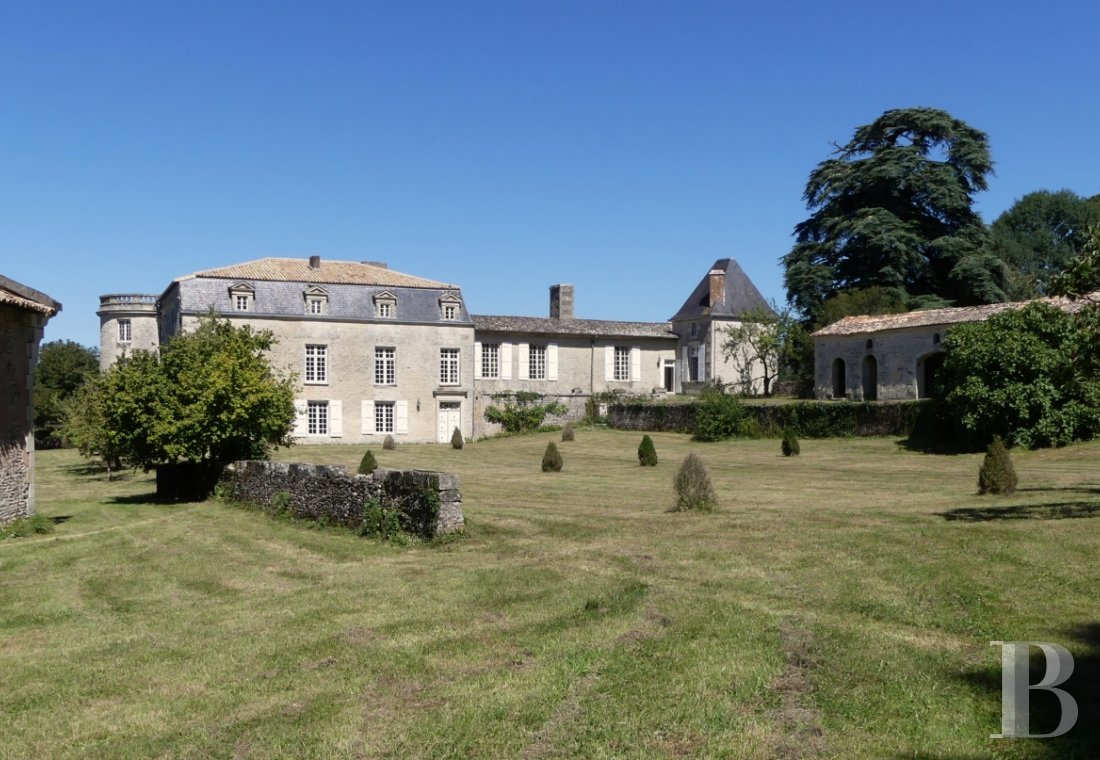 France mansions for sale poitou charentes 18th century - 2