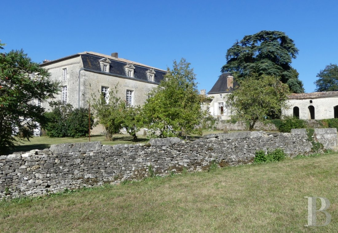France mansions for sale poitou charentes 18th century - 6