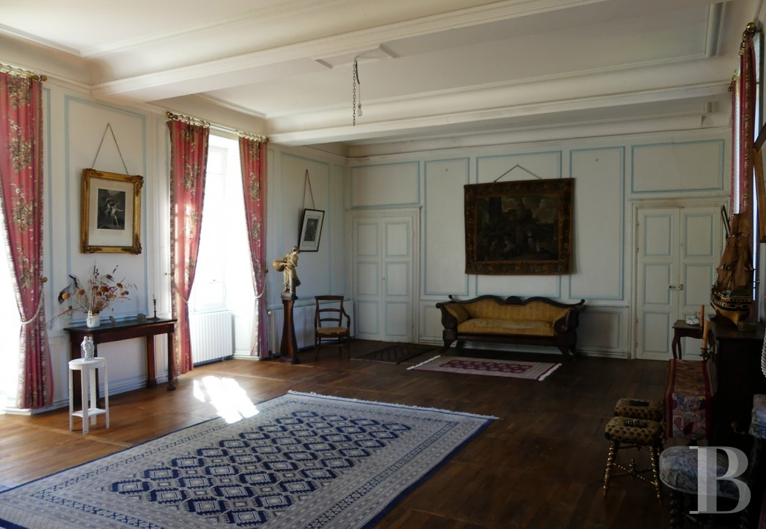 France mansions for sale poitou charentes 18th century - 9
