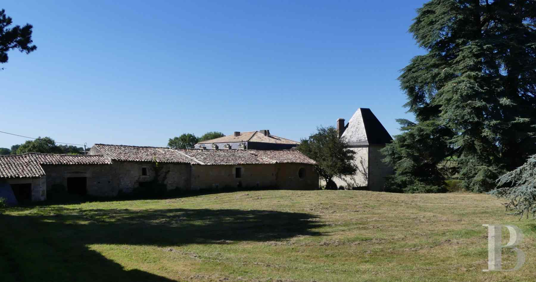 France mansions for sale poitou charentes 18th century - 14 zoom