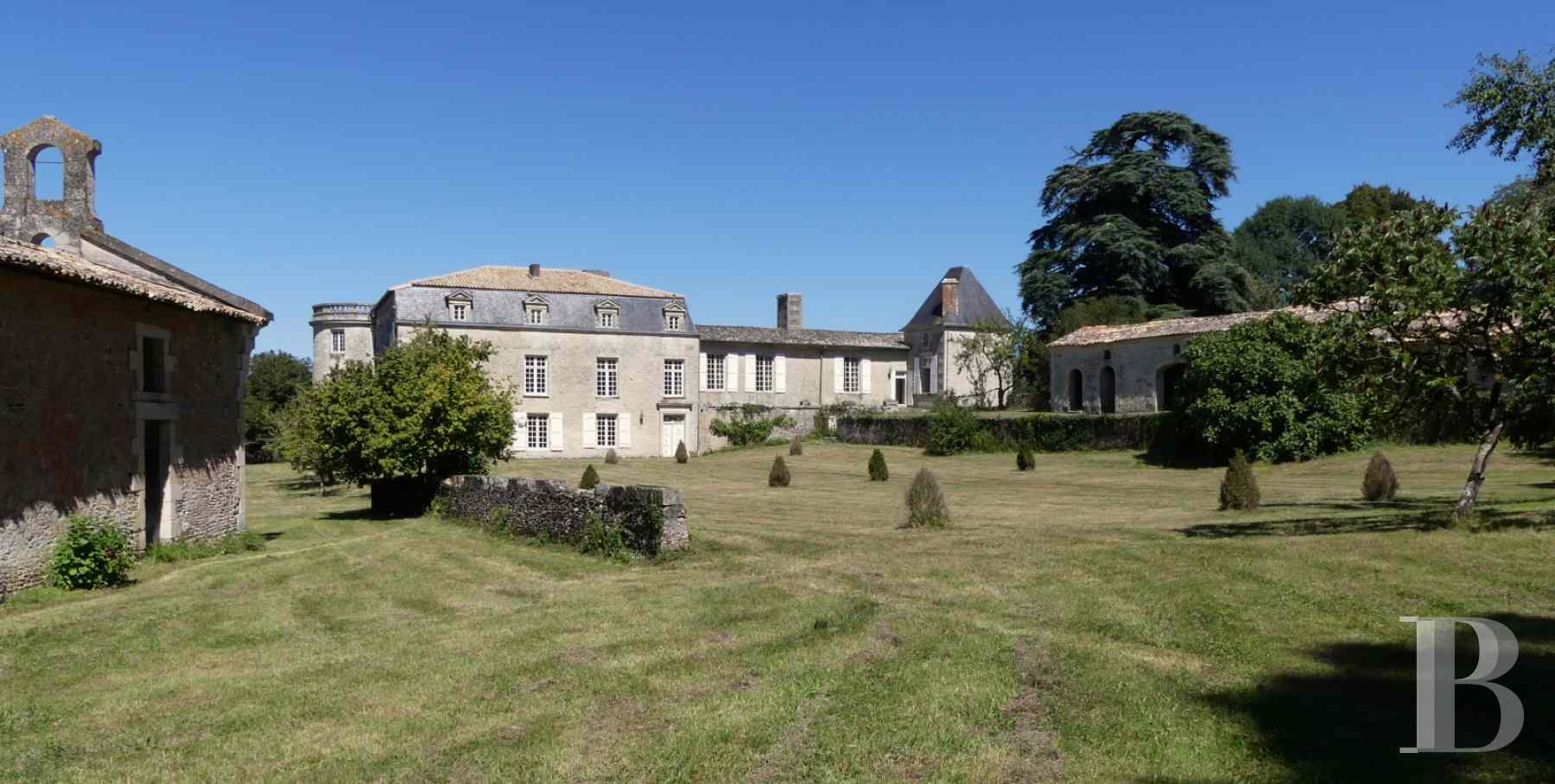France mansions for sale poitou charentes 18th century - 2 zoom