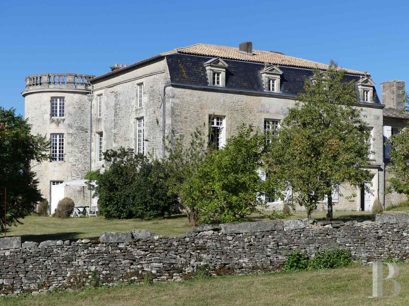 France mansions for sale poitou charentes 18th century - 3 zoom