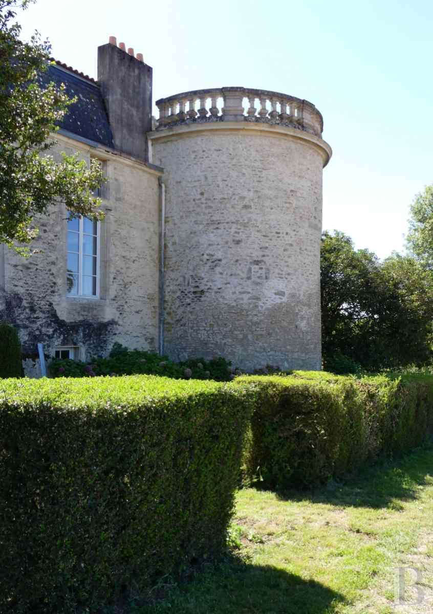 France mansions for sale poitou charentes 18th century - 5 zoom