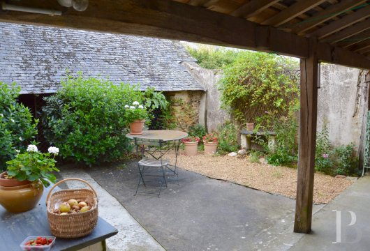 monastery for sale France pays de loire presbytery outbuildings - 10
