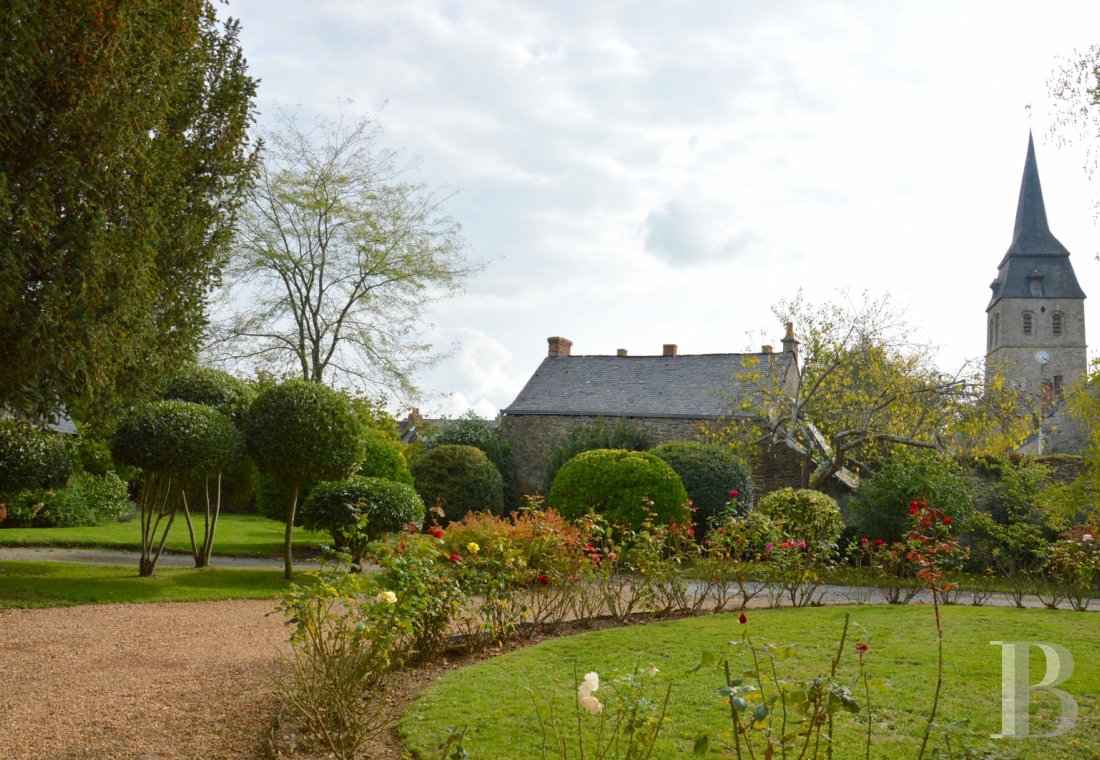 monastery for sale France pays de loire presbytery outbuildings - 15