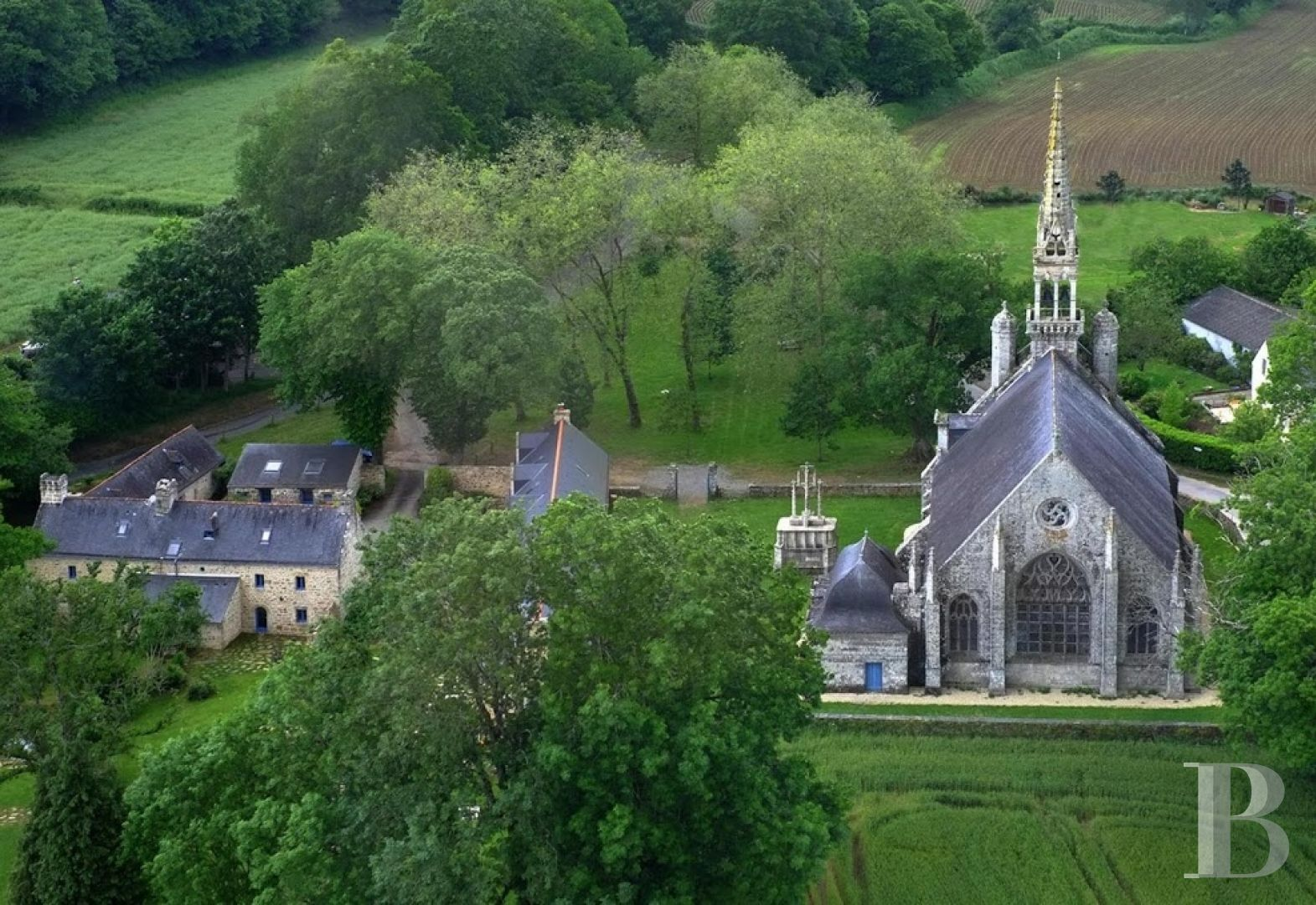 France mansions for sale brittany 18th century - 11 zoom
