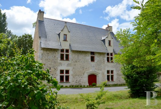 France mansions for sale pays de loire manors historic - 2