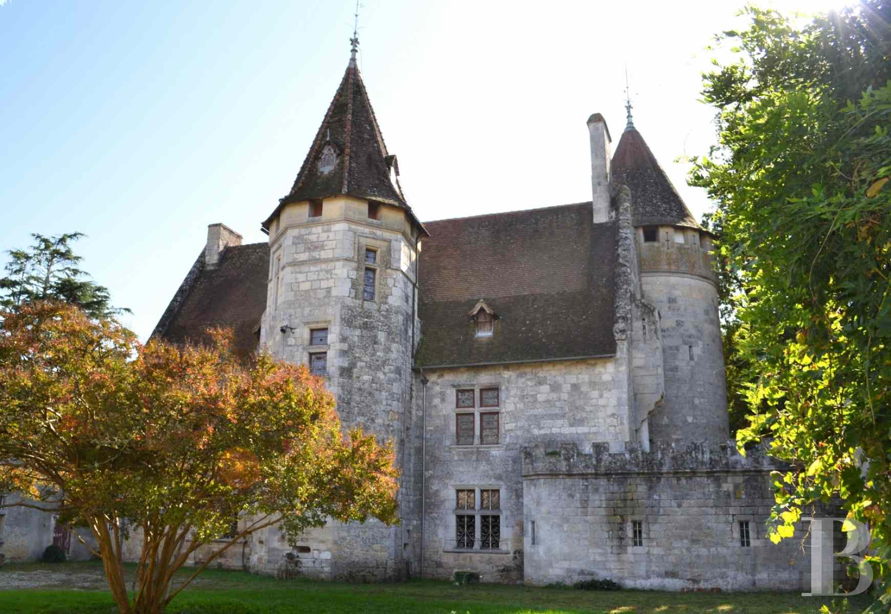 chateaux for sale France aquitaine lot et - 1 zoom