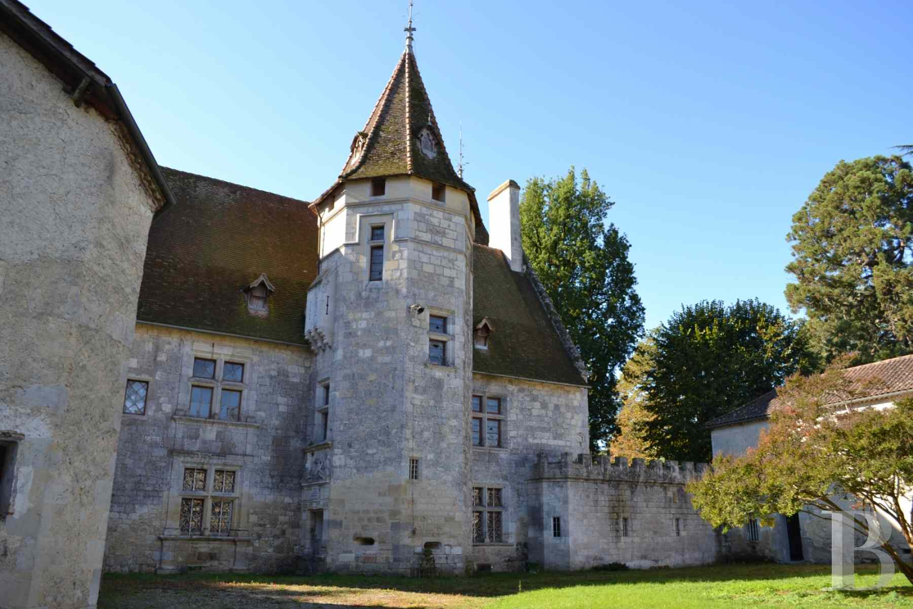 chateaux for sale France aquitaine lot et - 2 zoom