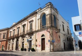 A stately, 18th century palace overlooking the square in an old town  just a few kilometres from the white Porto-Cesareo and Sant-Isidoro beaches
