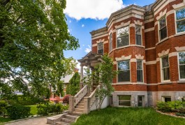A fully renovated residence from another century  at the foot of Mont-Royal in Montreal