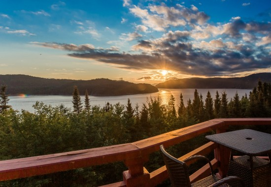 A comfortable residence in an untamed, natural setting <br/>in Saguenay Fjord National Park