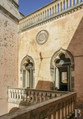A little Baroque palace in the town of Galatone,<br/>a short distance from the bigger town of Lecce