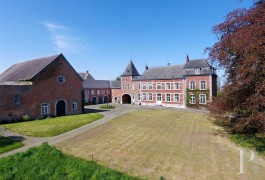 An elegant, 18th century chateau set in seven hectares  in the Hesbaye-Liégeoise region