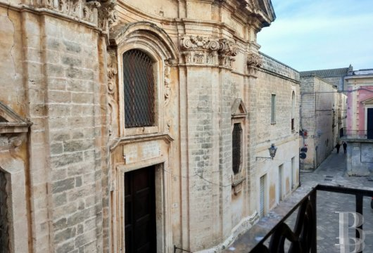 A 2-storey building and its terrace, with panoramic views of the town,  in the historic centre of Nardò