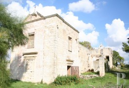 A traditional, family, Masseria farmhouse  between two seas in the countryside around Galatina