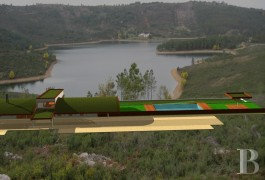 A 7.2 ha plot and a tourist project equal to the beauty of the site  in the midst of the Serra-de-São-Mamede nature park