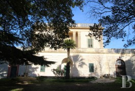 An old stately home, its frescoes and its 3 ha of parklands   in the countryside on the Salento peninsula, 30 minutes from Lecce