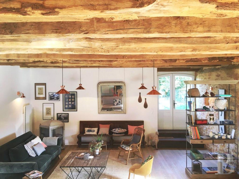 patrice besse chambres d 39 h tes aquitaine au nord de sarlat la can da une ancienne ferme. Black Bedroom Furniture Sets. Home Design Ideas